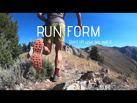 RUN FORM: Improve SPEED, CADENCE, and EFFICIENCY with this simple technique.