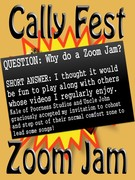 CallyFest Zoom Jamming - Questions