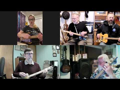 I Believe in Jesus: 3-String Panhandler Guitar