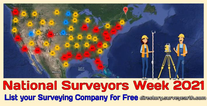 National Surveyors Week 2021