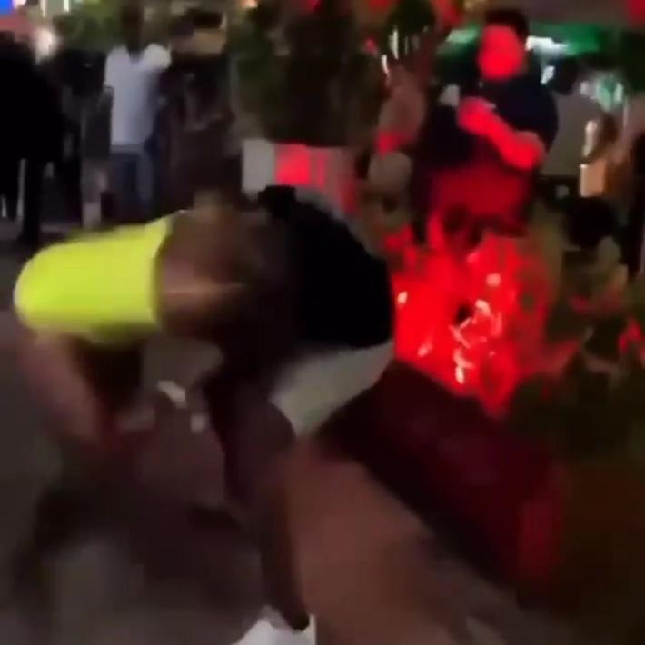 Fights break out everywhere on Spring Break