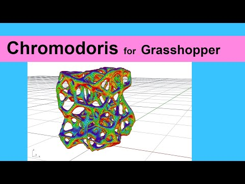 Chromodoris for Grasshopper