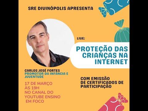 LIVE: Casé Fortes - Luiza SRU - Proteção das Crianças na Internet