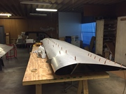 CH750 wing and vertical stabilizer
