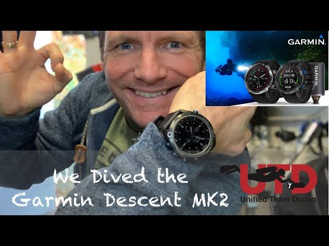 Garmin Descent MK2 | Perfect for the active Diver