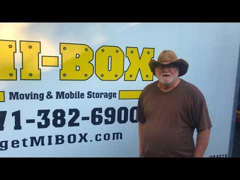 Fredericksburg Moving Companies - MI-BOX of Northern Virginia