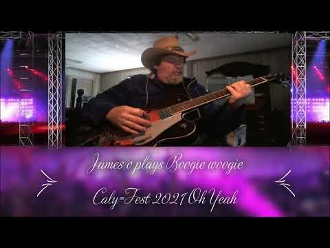 James o plays Boogie woogie Cally -Fest 2021