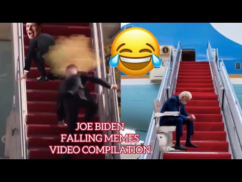 Joe Biden Falling Memes Video Compilation. Warning : Some profanity near the end of the video