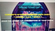 """Official """"START-UP"""" CORNER*3:16*STONE CHRISTIAN FAITH BASES CANADA U.S.A. WORLD PIC"""