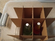 Storage solution, good for 52 ounce globes
