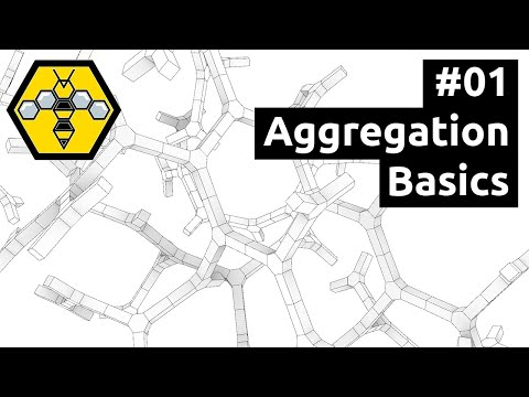 Organic Modelling with Wasp, Weaverbird & Grasshopper - Tutorial #01: Basic Aggregation Setup