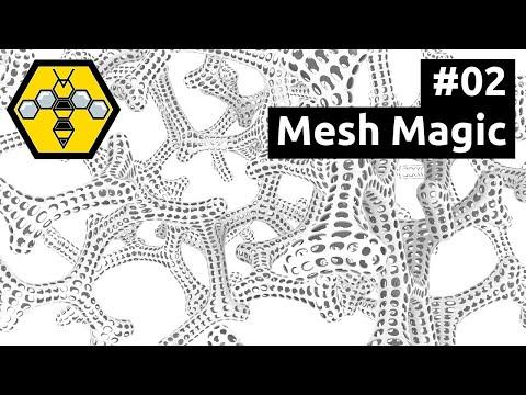 Organic Modelling with Wasp, Weaverbird & Grasshopper - Tutorial #02: Mesh Editing with Weaverbird