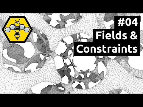 Organic Modelling with Wasp, Weaverbird & Grasshopper - Tutorial #04: Fields & Constraints