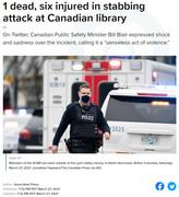 Knife Attack in Canada