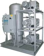 Airtech Incorporated TANK MOUNTED ROTARY VANE VACUUM SYSTEM