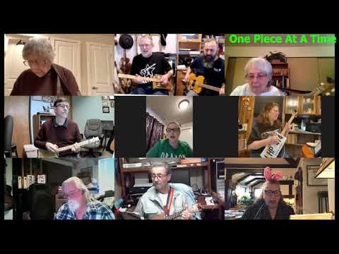 One Piece At A Time: 2-String Chugger Cigar Box Guitar