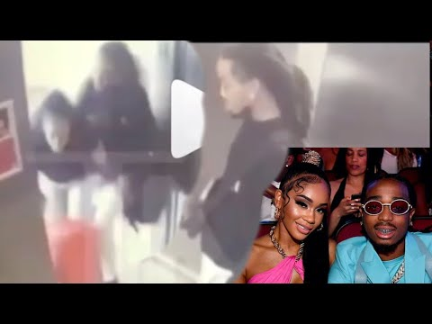 Quavo is Caught putting Paws on Saweetie in the Elevator, Leaked elevator footage