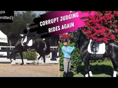 Corrupt Judging Rewards Bad Riding: Karen Pavicic 'Snatched' Another Win