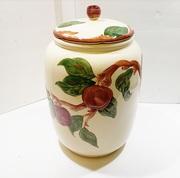 Large Franciscan Apple Cookie Jar