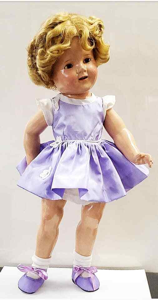 1930s Composition Shirley Temple Doll 18inch