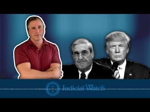 Tom Fitton: Mueller is Illicitly Targeting & Harassing President Trump--DOJ Must Shut it Down