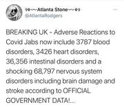 UK Adverse Reaction