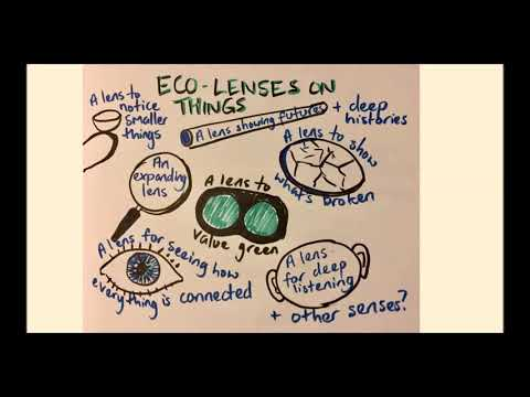 Eco lenses on things with Bridget McKenzie