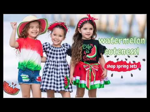 Buy Watermelon Print Dress At Affordable Price   All Spring 2021