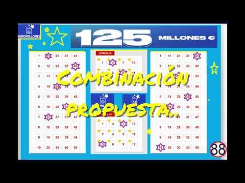 Comprobación boletos Euromillones premio  2 estrellas y 2 números