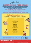 EASTER FUN AND FOOD AT LUOS COMMUNITY HUB (DOWN LANE PARK, N17)