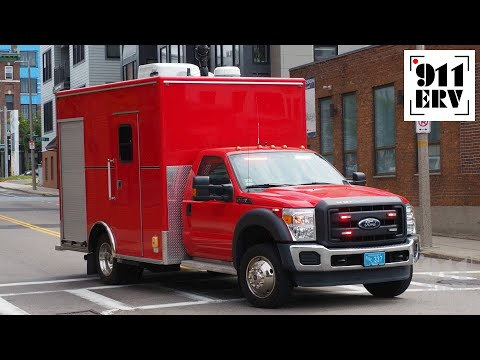 Boston Fire HAMR Unit Responding