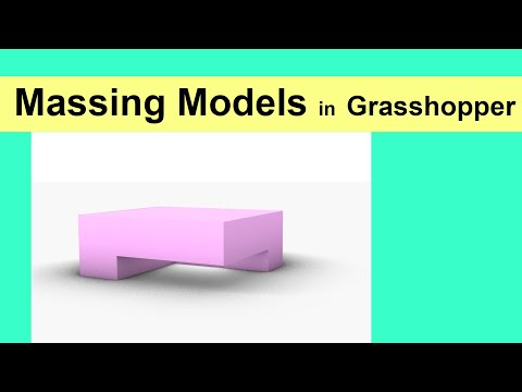 Massing Models in Grasshopper