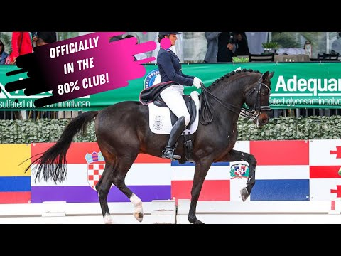 Adrienne Lyle Officially Joins The 80% Club With Salvino Scoring 80.8% In The Grand Prix Special