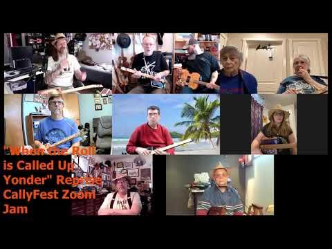 Final song of CallyFest Zoom Jam