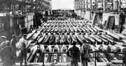 Fleet of Japanese Suicide Submarines WW2