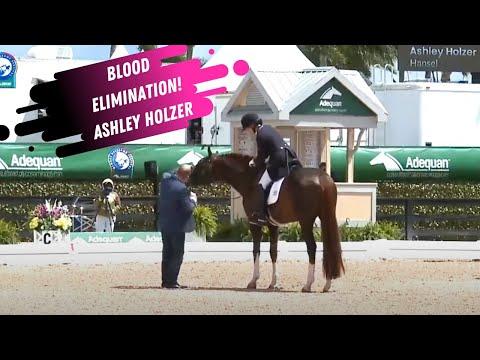 Dressage Disaster: Double Trouble - Blood Elimination For Ashley Holzer