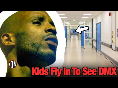 DMX Update: Kids Fly into New York to Say Final Goodbyes! (Fans Show Up to Hospital)
