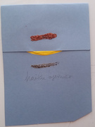 "Mail Art della serie ""poesia wabi-sabi"""