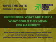 Green Jobs: What are they, and what could they mean for Haringey?