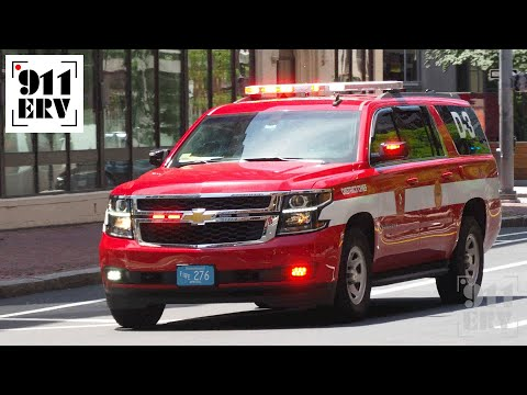 Boston Fire Car 3 Responding