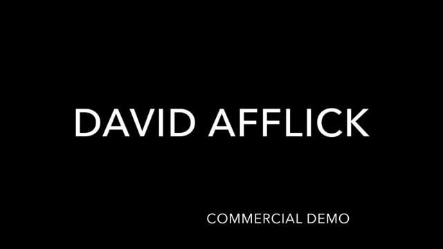 DAVID AFFLICK Commercial Reel (2021)
