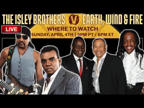 Earth Wind & Fire vs The Isley Brothers Verzuz Battle LIVE | Hosted by Steve Harvey
