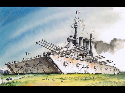 Top 5 Steampunk Landships