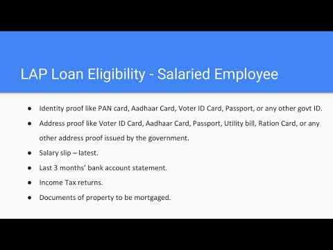 What is a property loan? Is it Safe