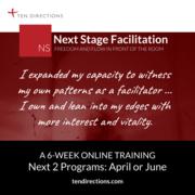 Next Stage Facllitation Online April 2021