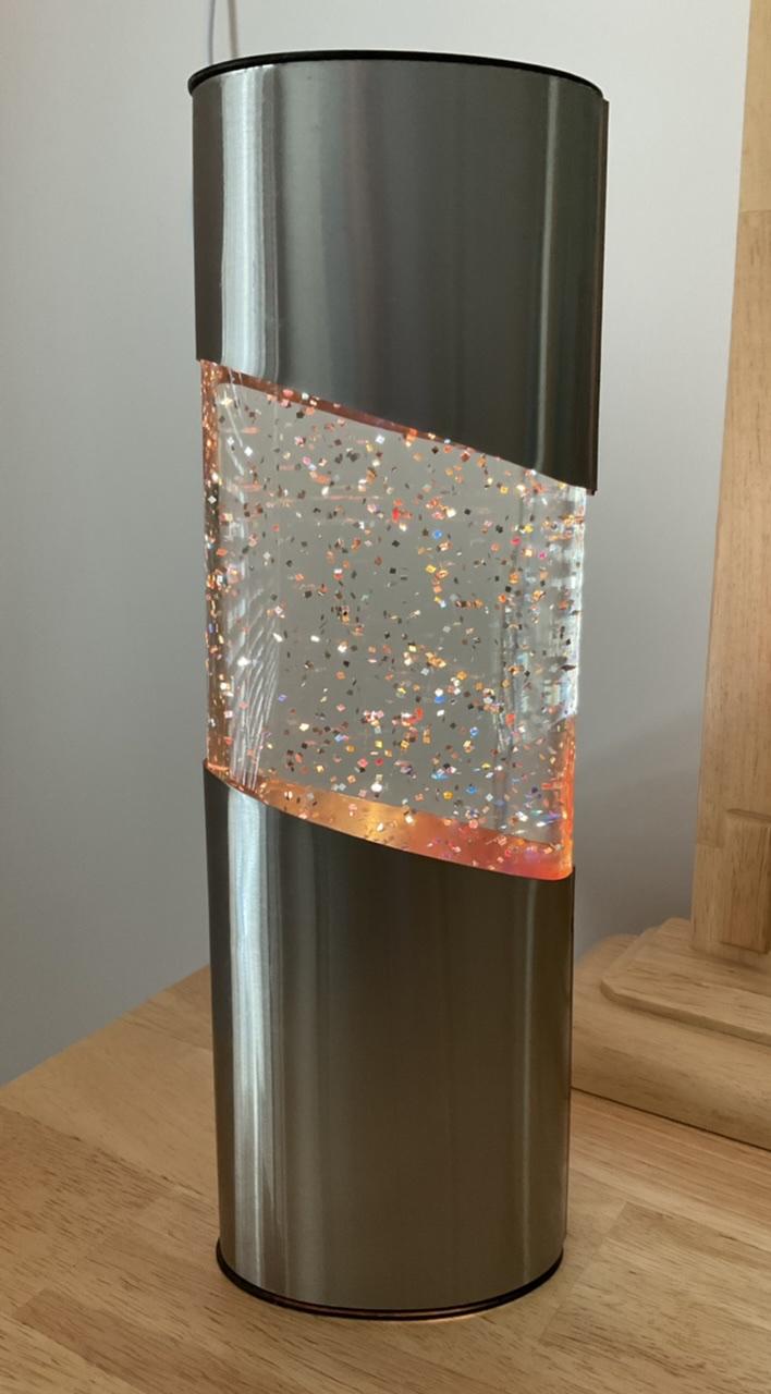 Glitter Lamp from Mark