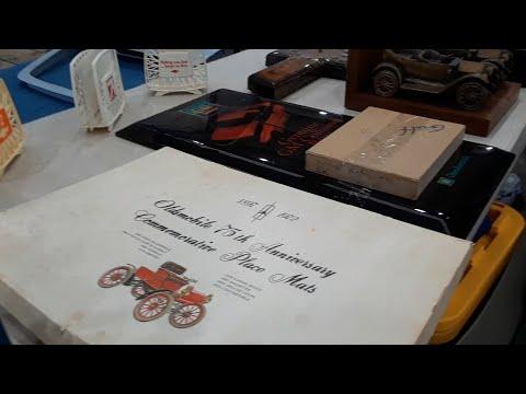 Dealer Automobilia Unusual Auto Dealer Promotional Items At the 2021 SMR AACA Swap Meet