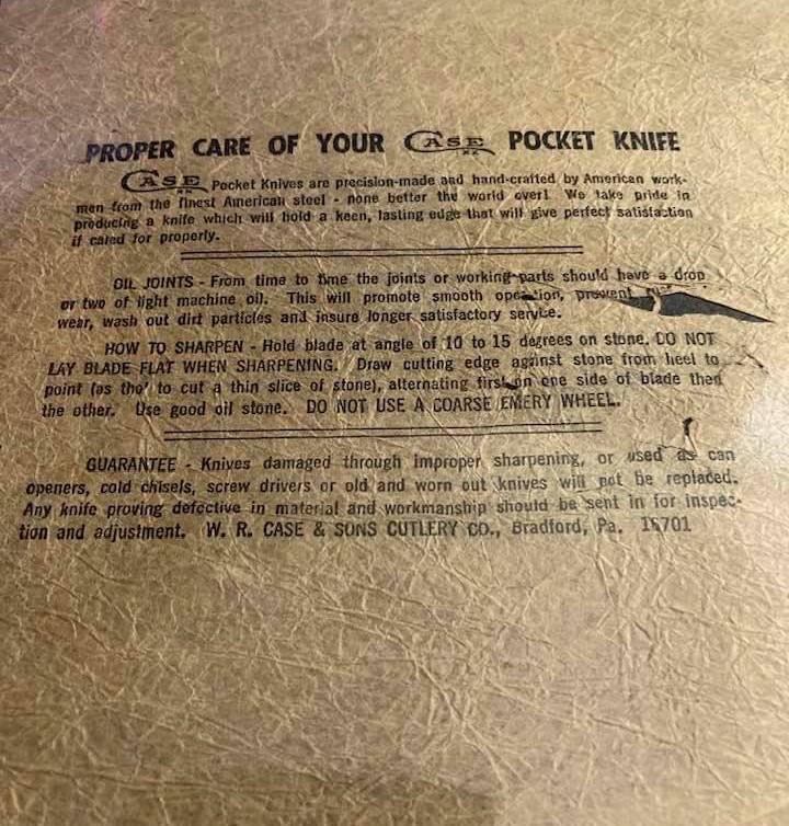 Case Tissue Paper with Zip Code