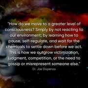 How to move to greater level of consciousness