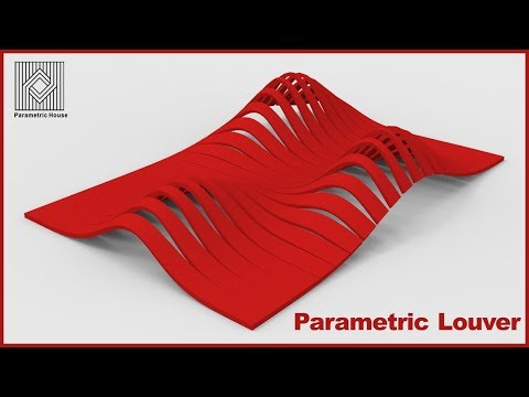 Facade Louver (scale)  - Grasshopper Tutorial
